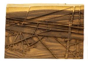 """River Bridge"" Studio Carving, David Alan Original Design"