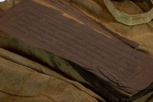 Buddhist Objects Tibetan Pecha (Sacred Book) Shelf-Top