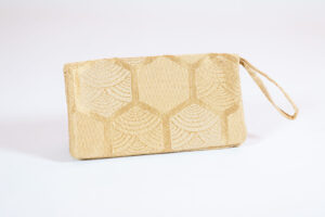 David Alan Designs Clutch Purse of Vintage Kimono Fabric