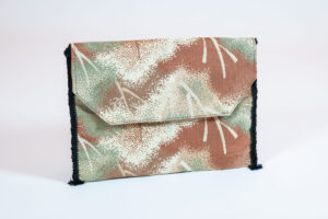 David Alan Designs Shoulder Strap Purse of Vintage Kimono Fabric
