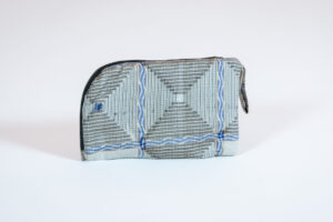 David Alan Designs Large Coin Purse of Vintage Kimono Fabric