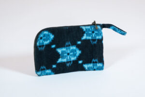 David Alan Designs Large Coin Purse of Vintage Kimono Fabric