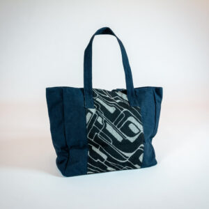 David Alan Designs Tote Bag of Vintage Kimono Fabric