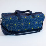 David Alan Designs Weekender Bag Of Vintage Kimono Fabric