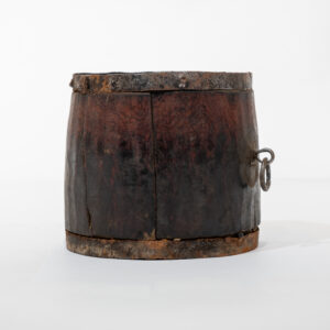 Antique Tibetan Yak Butter Container
