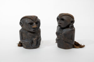 Shaman Effigy Figures (male and female pair)