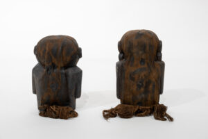 Shaman Effigy Figures (male and female pair