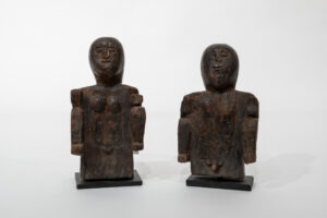 Ancestral Ritual Offering Figures (Pair)