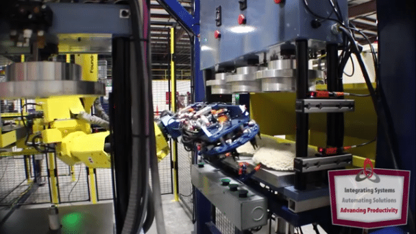 Custom Robotic Manufacturing Application – Machine Automation Integration