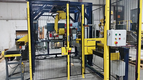 Custom manufacturing robotic cell