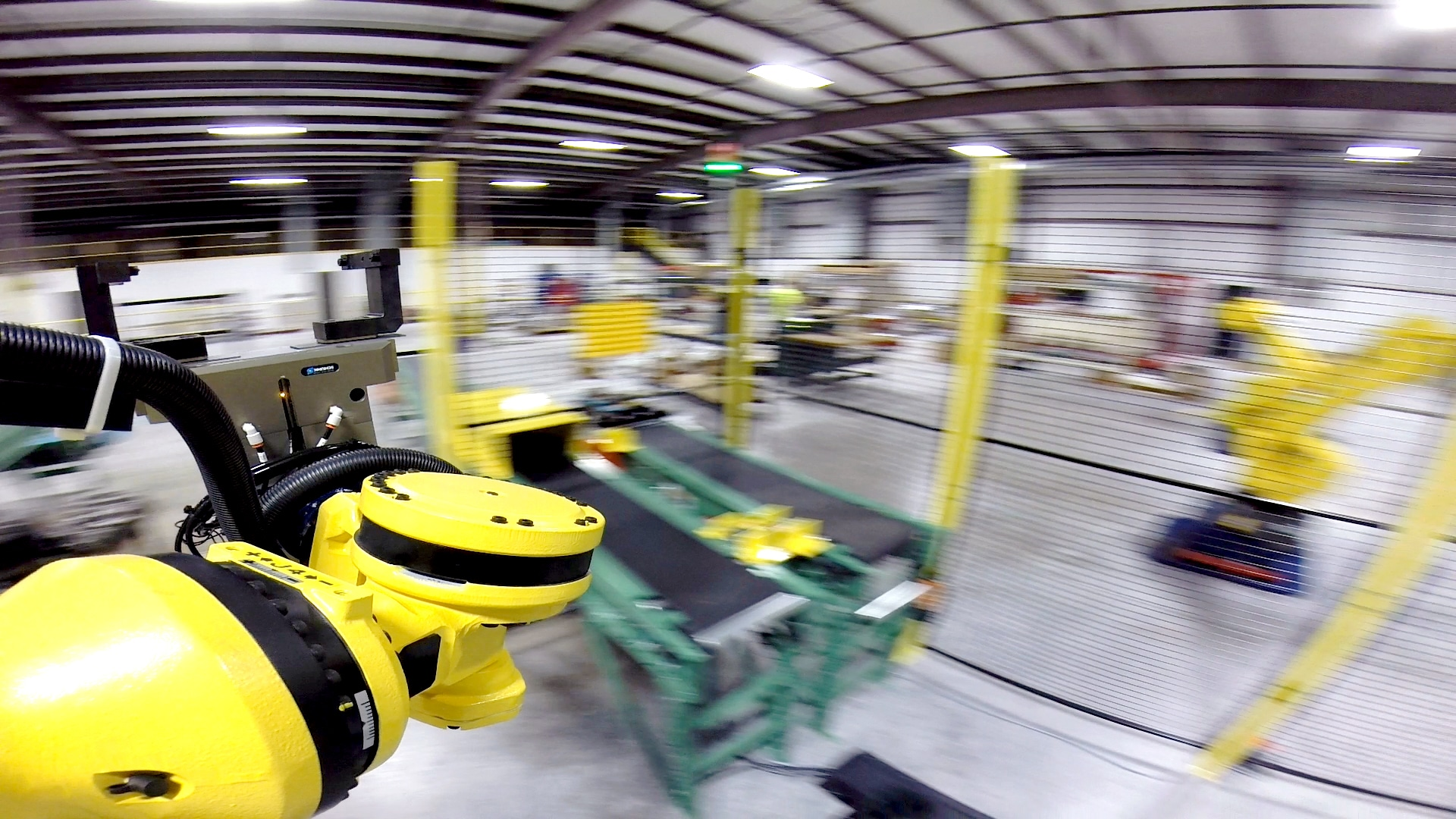 Picking and Placing Parts into Automated Cell