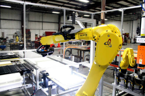 robotic vision, automation, cell