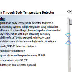body temperature detector