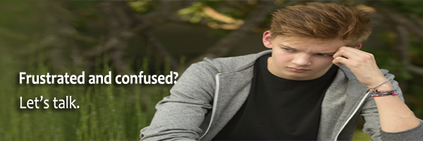 Adolescent/teen therapy header graphic