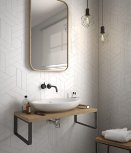 Where to tile in your bathroom...
