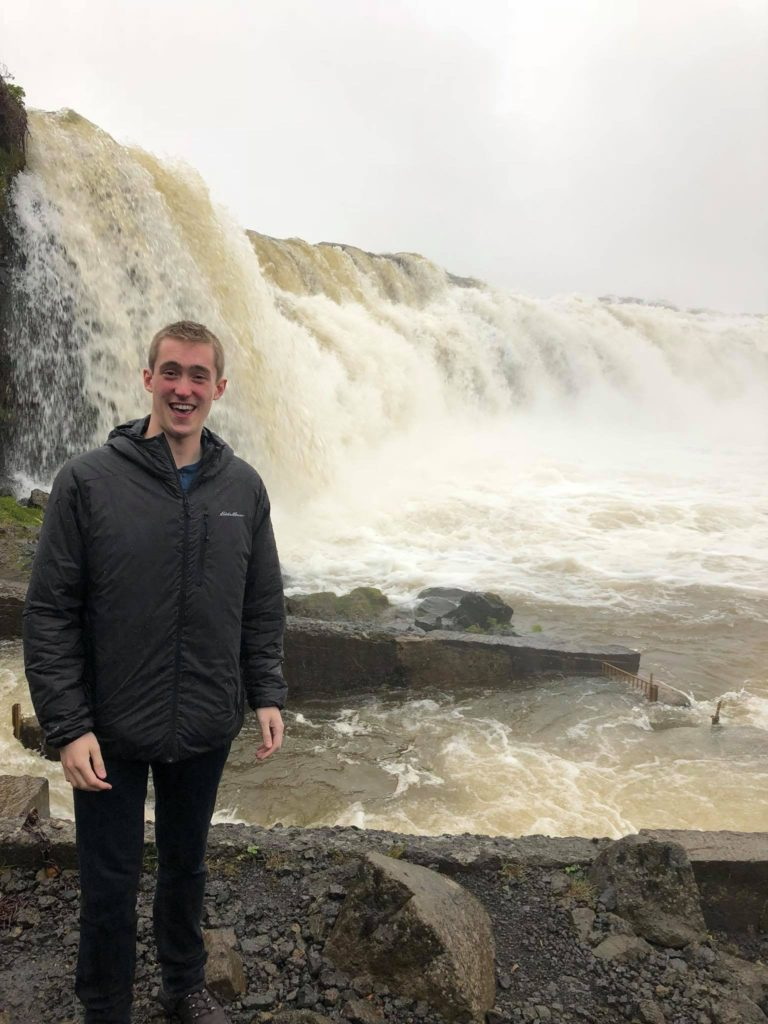 faxi-waterfall-iceland-travel-diary