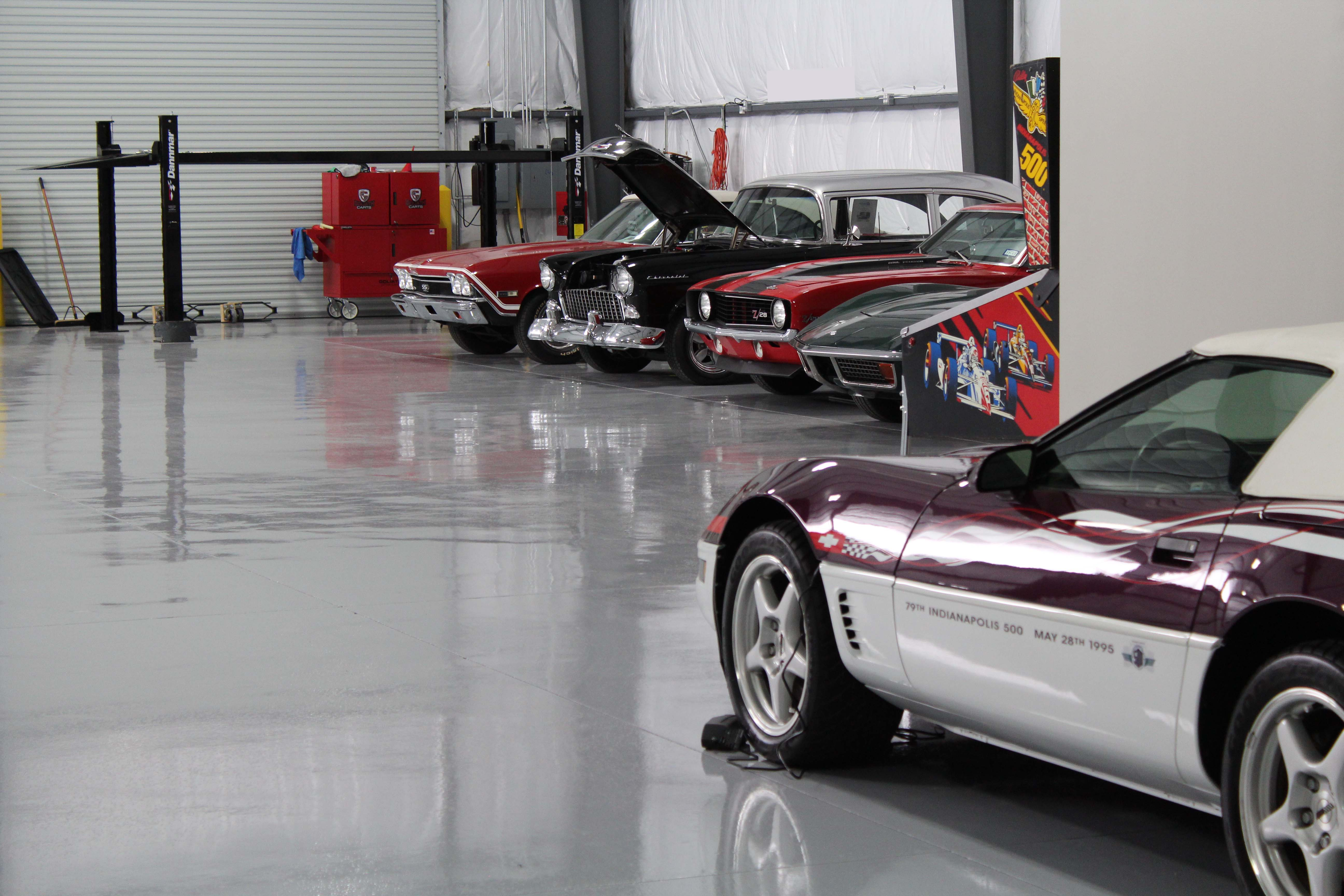 Collectors Package Car Storage Warehouse Interior