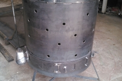 Barrel-Firepit-RAW Metal Works