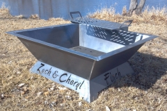 Custom BBQ Pit-RAW Metal Works