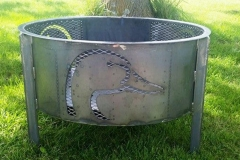 Duck-head-firepit-RAW Metal Works