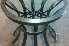Iron-Circular-Plant-Stand- RAW Metal Works