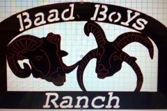 Baad-Boys-Sign-RAW Metal Works