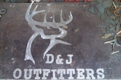 D&J-Outfitters-sign--RAW Metal Works
