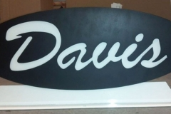 Davis-Sign-RAW Metal Works