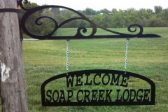 Welcome-Lodge-sign-RAW Metal Works
