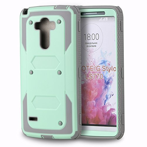 LG-G-Stylo-LG-G-Stylus-LS770-G4-Note-Case-ImpactStrong-Hybrid-Dual-Layer-Combo-Armor-Defender-Protective-Case-Wit-B019WSBD1U
