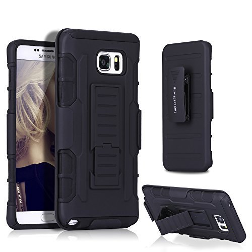 Samsung-Note-5-Case-ImpactStrong-BeltClip-Kickstand-Samsung-Galaxy-Note-5-Dual-Layer-Holster-Cover-with-Locking-B-B016AZYZI6