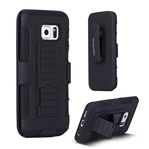 Samsung-S6-Edge-Case-ImpactStrong-BeltClip-Kickstand-Samsung-Galaxy-S6-Edge-Dual-Layer-Holster-Cover-with-Locking-B-B016AZ51KW