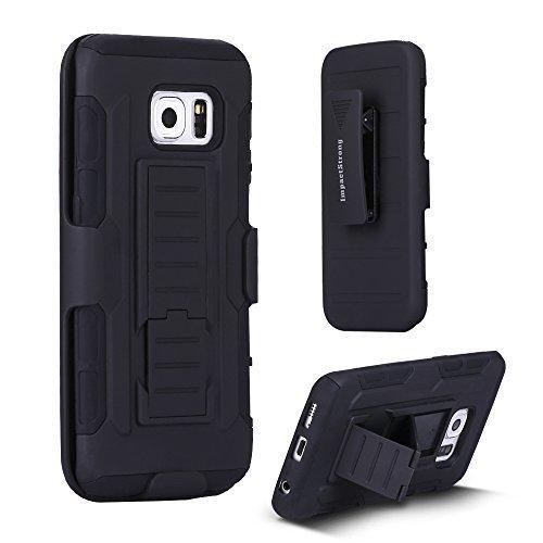 Samsung-S6-Edge-Case-ImpactStrong-BeltClip-Kickstand-Samsung-Galaxy-S6-Edge-Dual-Layer-Holster-Cover-with-Locking-B-B016AZ51KW