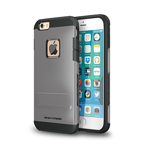 Variation-92-30MK-MMJ0-of-ImpactStrong-Hybrid-Armor-Cover-With-Kickstand-Slim-Fit-Protection-Shell-for-Apple-iPhone-B01BK24F7K-983