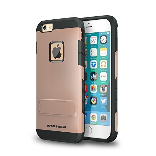 Variation-T2-P0PW-7BNI-of-ImpactStrong-Hybrid-Armor-Cover-With-Kickstand-Slim-Fit-Protection-Shell-for-Apple-iPhone-B01BK24F7K-991