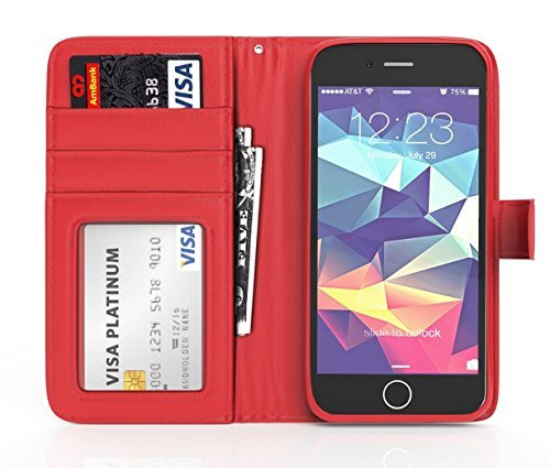 iPhone-6-Wallet-Case-ImpactStrong-Leather-iPhone-6-Wallet-Cover-Drop-Protection-Heavy-Duty-Wallet-Card-Slot-Hol-B01DG6U054