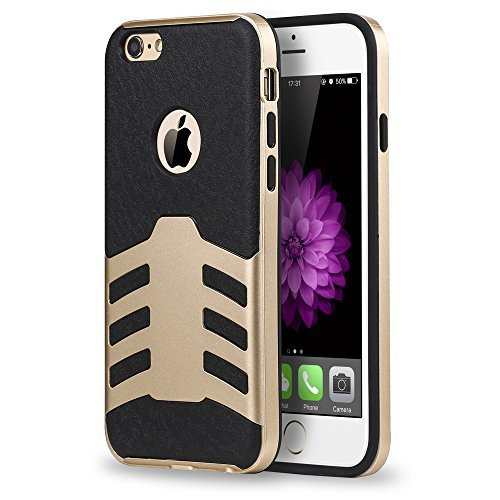 iPhone-6s-Case-ImpactStrong-Armor-Exact-Fit-Case-Premium-Leather-Feel-TPUPC-Hybrid-Cover-Shock-Absorbing-Anti-Slip-B01B26Q1D0