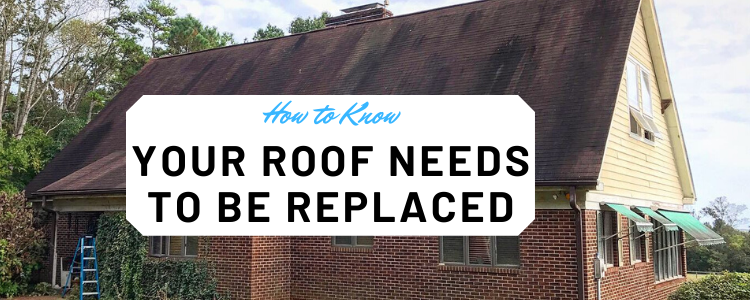 how to know to replace roof