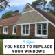 Signs to replace windows