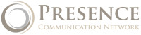 Presence Communication Network Logo