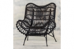 Rattan Armchair. indoor & outdoor