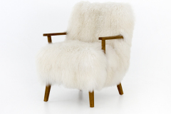 Armchair in Mongolia Fur