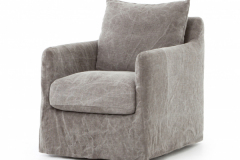 Swivel Armchair slipcover