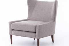 Armchair natural fine linen
