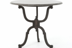 Iron Table with Blue Stone Top