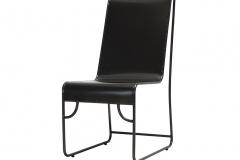 Pair outdoor metal chair