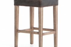 Bar or Counter stool with Leather
