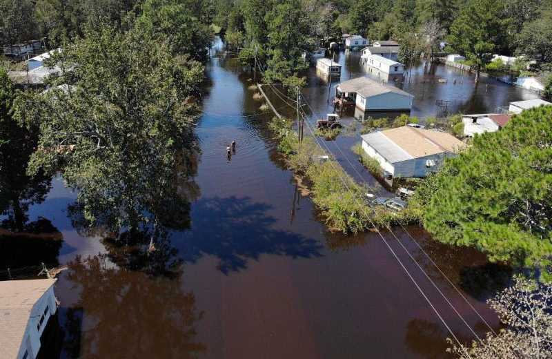 NEARLY $1.5B IN CMBS POSSIBLY AT RISK FROM HURRICANE FLORENCE