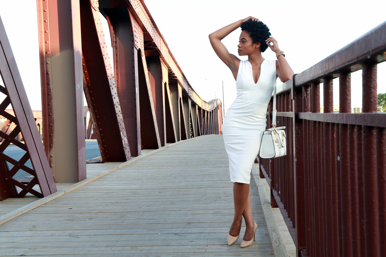 Lulus White Midi Dress