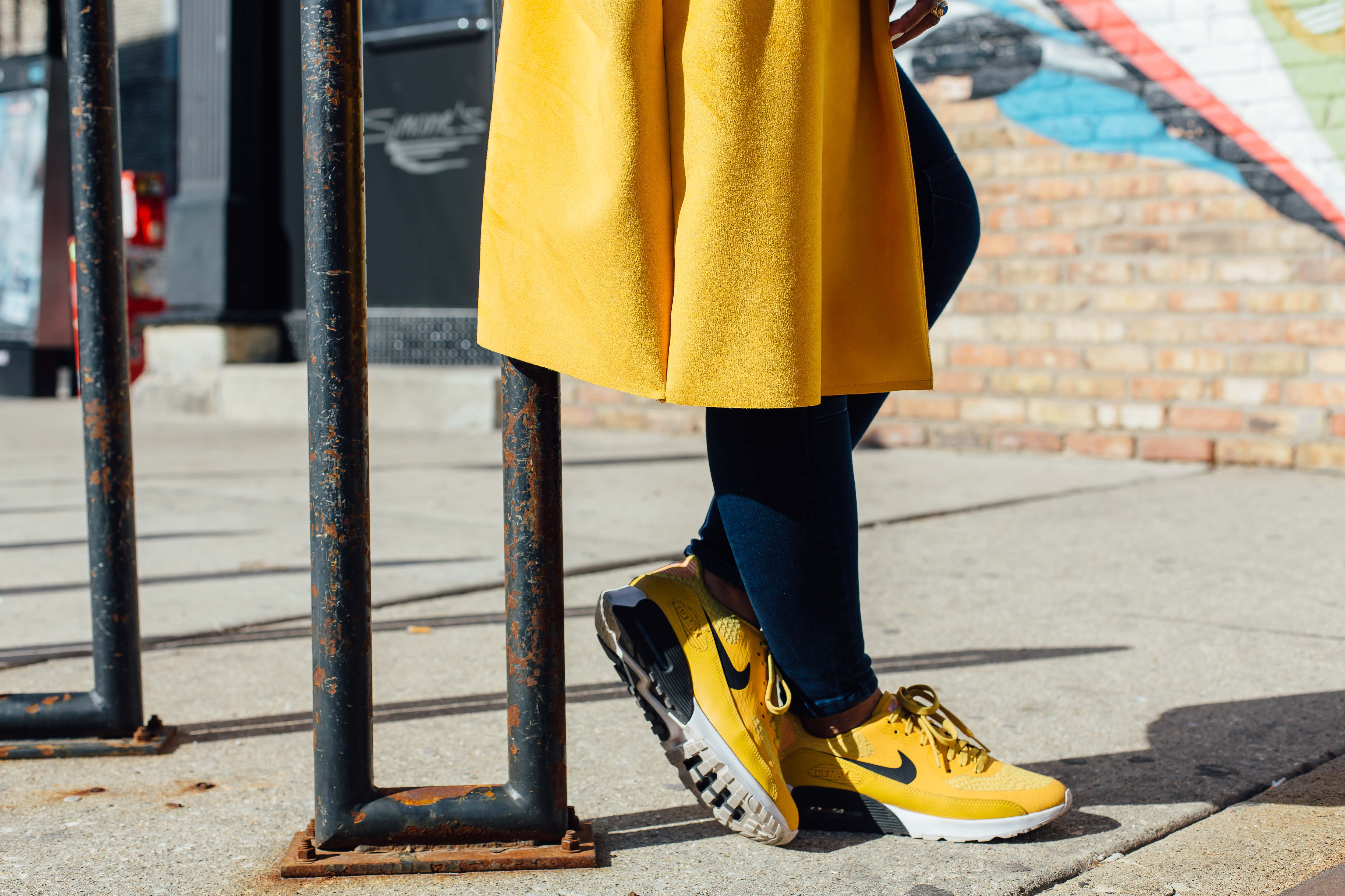 Yellow Nike Sneakers